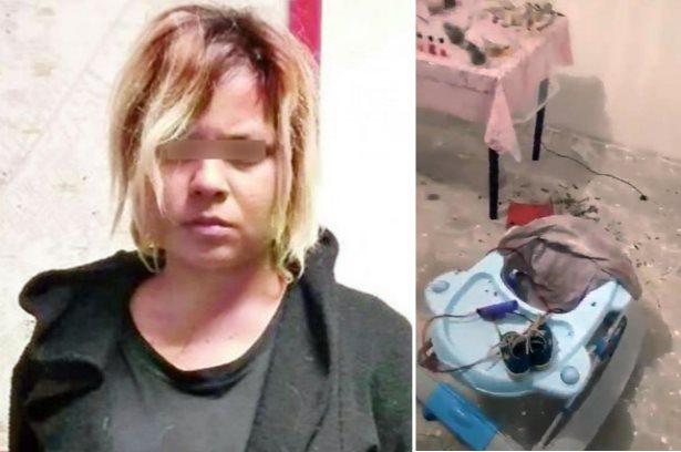Женщина назвала своего сына Вельзевулом, а спустя 8 месяцев принесла его в жертву (2 фото)