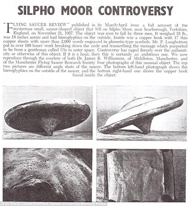 Обломки упавшего миниатюрного НЛО десятки лет хранились в британском музее (3 фото)