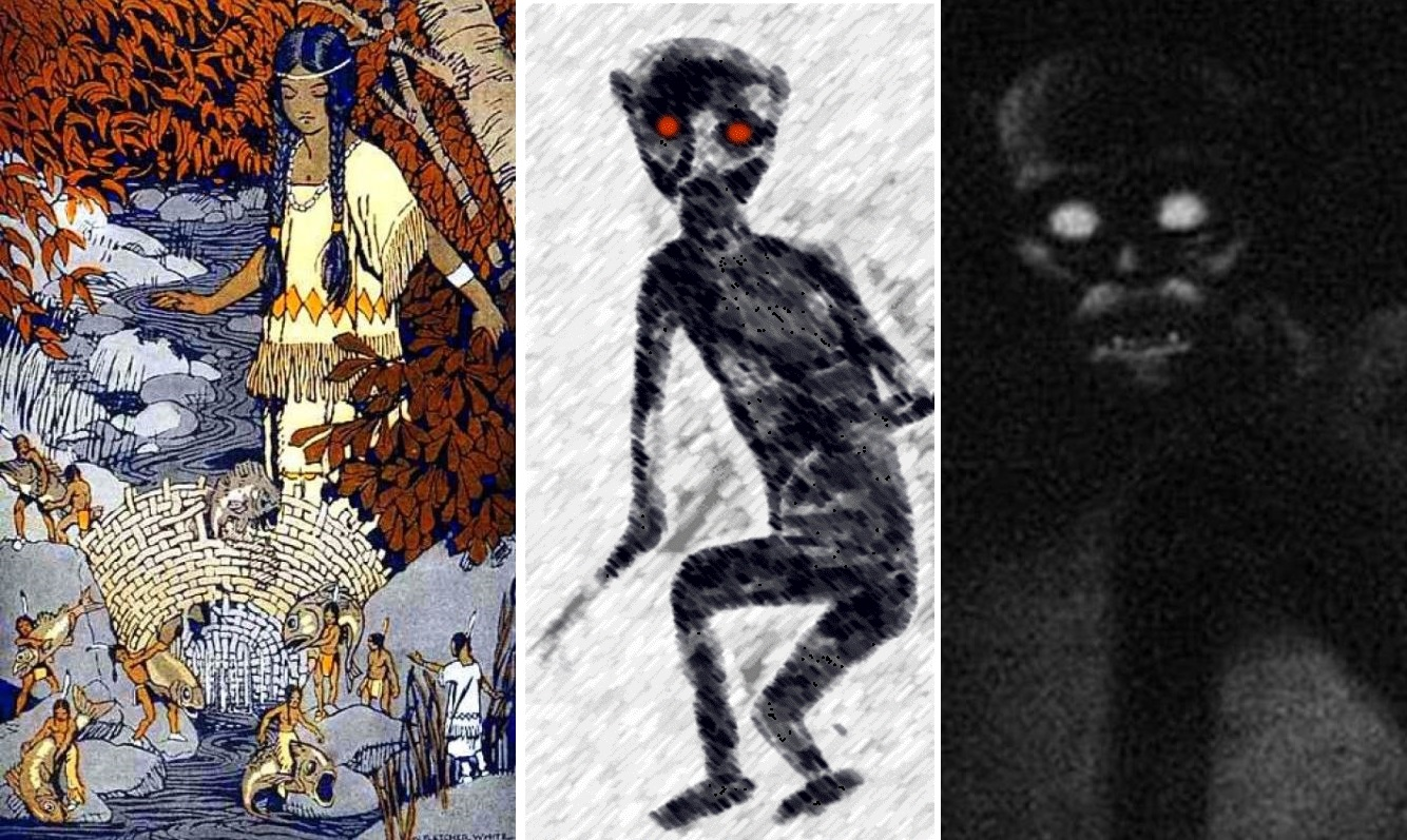 Жуткие столкновения с монстрами из туннелей: От говорящих обезьян до рептилоидов