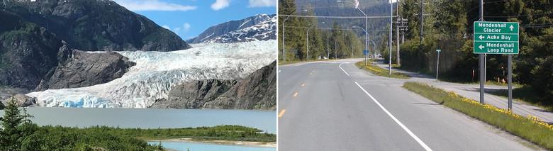 Город Джуно на Аляске взбудоражен словами очевидца о наблюдении им огромной птицы (2 фото)