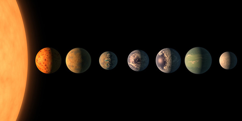 В системе TRAPPIST-1 обнаружили две пригодные для жизни планеты (3 фото)