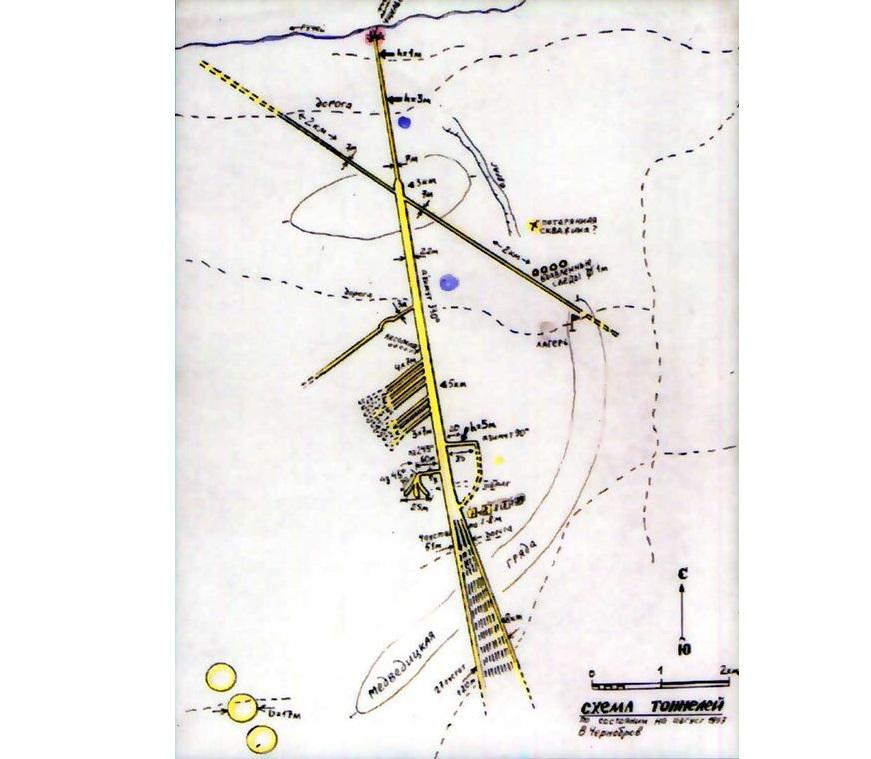 Загадочные подземные туннели в аномальной зоне Медведицкая гряда