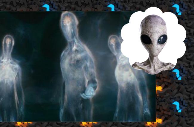 Визит трех полупрозрачных существ