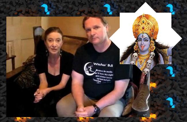 Популярная оккультистка уверяет, что в нее вселялась богиня Кали