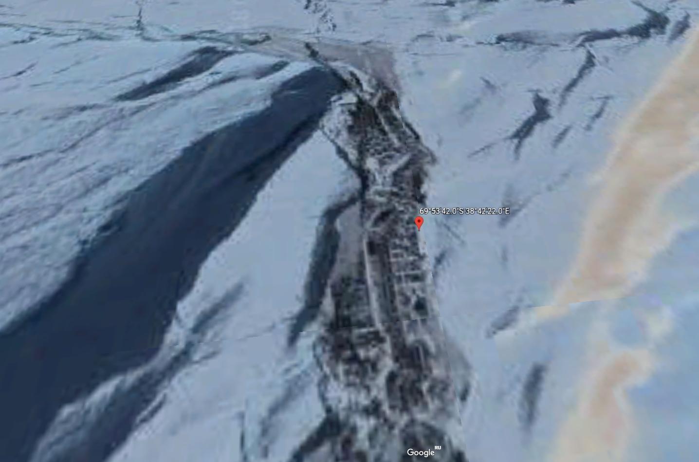 Под растаявшим льдом Антарктиды нашли нечто странное
