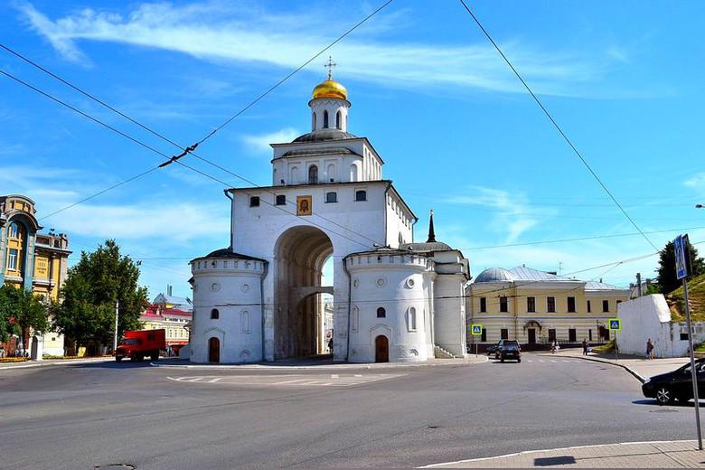 Куда пропали Золотые врата Владимира? (3 фото)