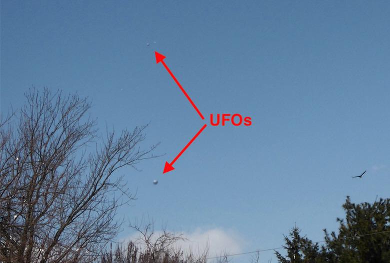 Самые интересные фотографии НЛО за февраль-март 2018 года (16 фото)