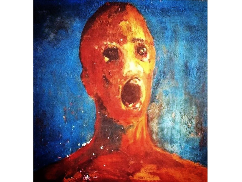 """Проклятая картина """"Человек в душевной муке"""""""