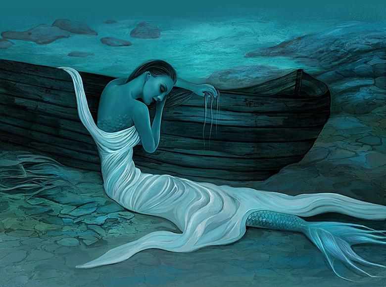Животные-мутанты, монстры и русалки: Легенды о карельском озере Куолаярви (3 фото)