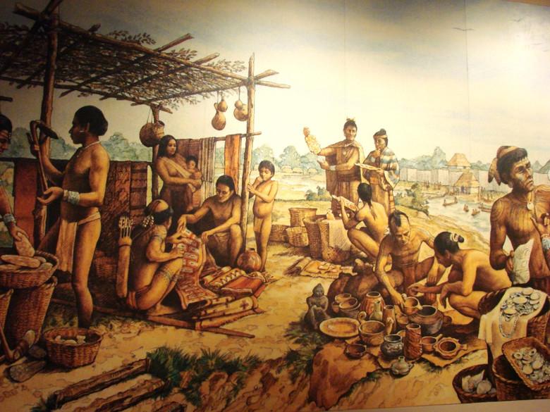 Тайны индейского города Кахокия (5 фото)