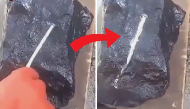 В Мьянме найден странный камень, который плавит металлические гвозди