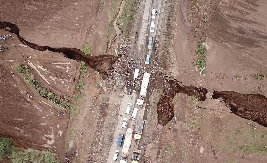 В будущем Африке грозит расширение пустыни Сахары и огромный тектонический разлом