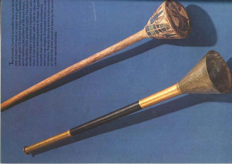 Трубы Тутанхамона способны вызывать войны и вырубать свет