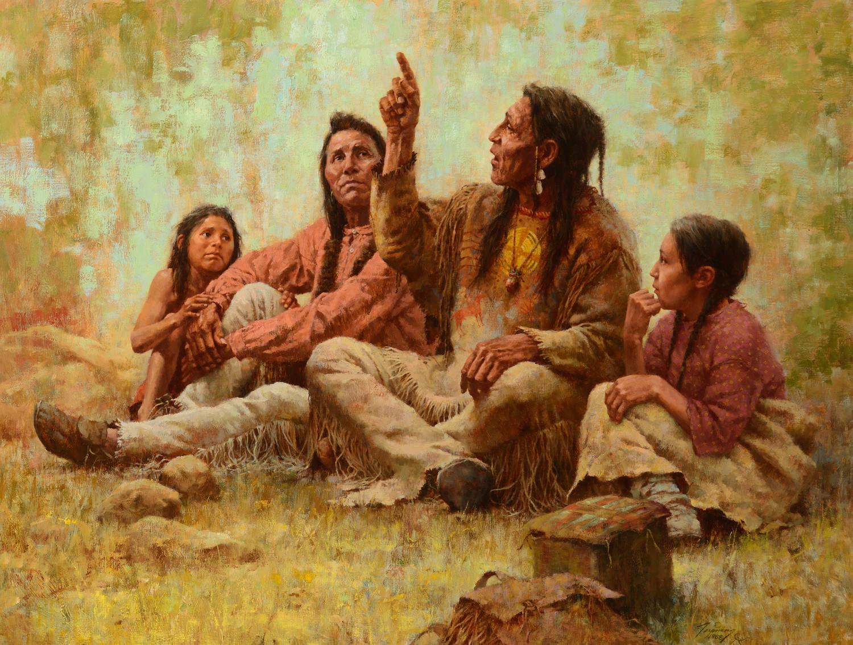 """Тайна """"луноглазых людей"""" из легенд индейцев чероки"""