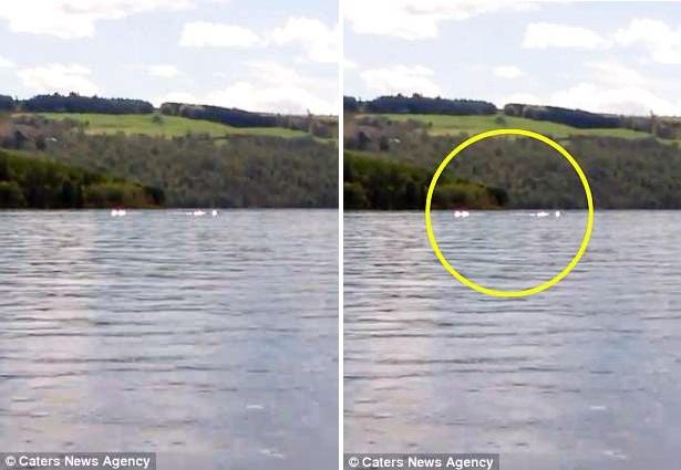 8-летняя девочка сняла на видео нечто странное на озере Лох-Несс