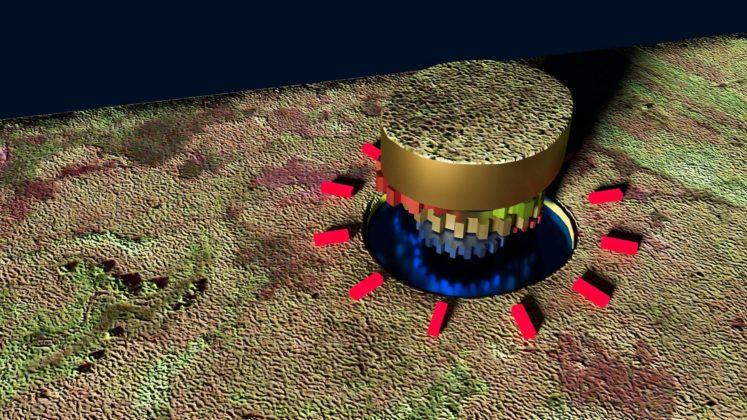 По словам уфологов странный круглый остров у реки Парана может (6 фото) быть инопланетной базой
