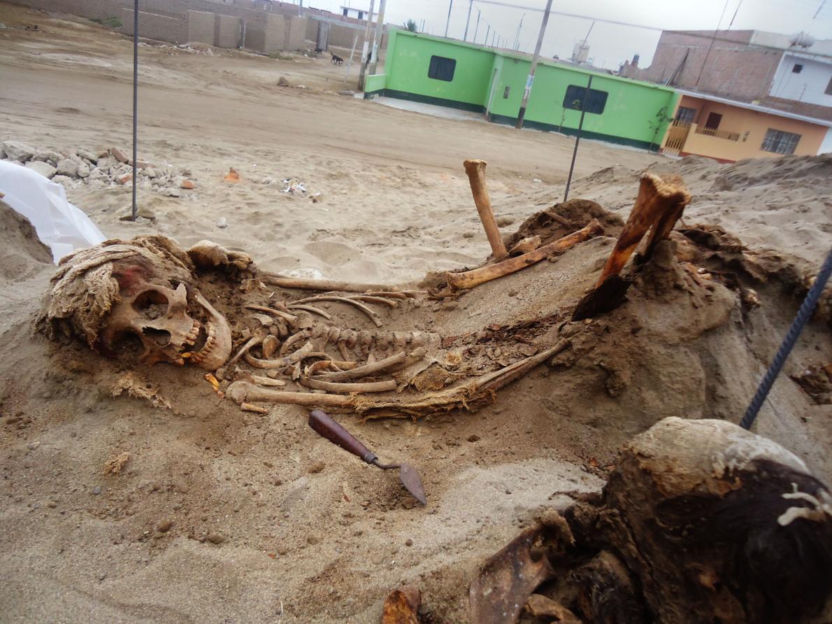 Перуанский город Уанчако был местом крупнейшего жертвоприношения детей в истории