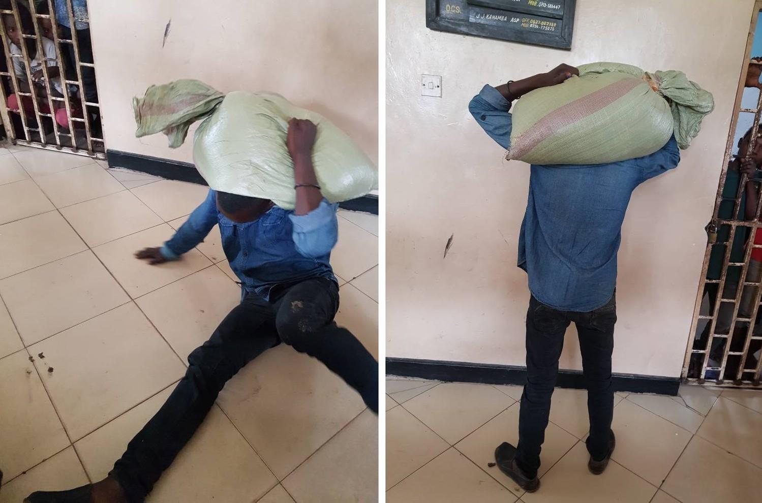 В Танзании вор, укравший мешок с кукурузой, подвергся проклятию и не смог снять мешок с плеч