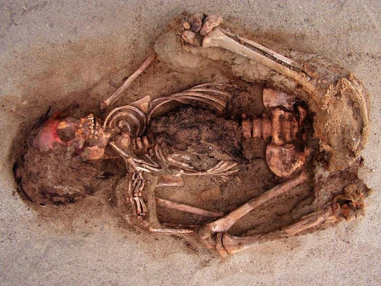 В Перу нашли детей принесенных в жертву 500 лет назад.