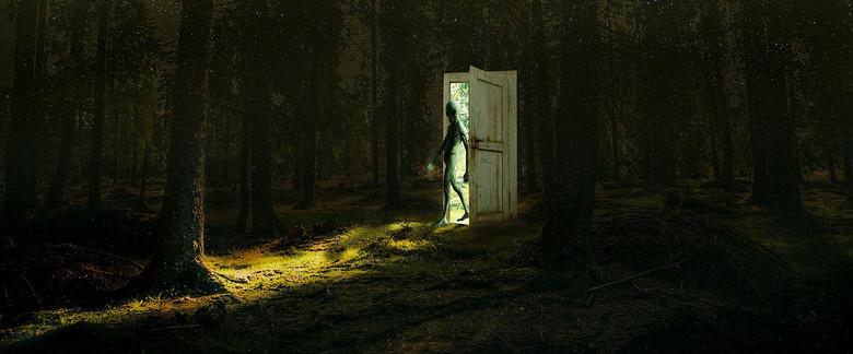 """Возможно ли приоткрыть """"дверь"""" в иной мир, просто читая книгу о паранормальных явлениях? (3 фото)"""