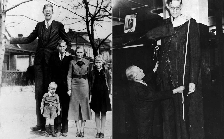 Опубликовано редкое цветное видео с самым высоким человеком на Земле, умершим в 1940 году