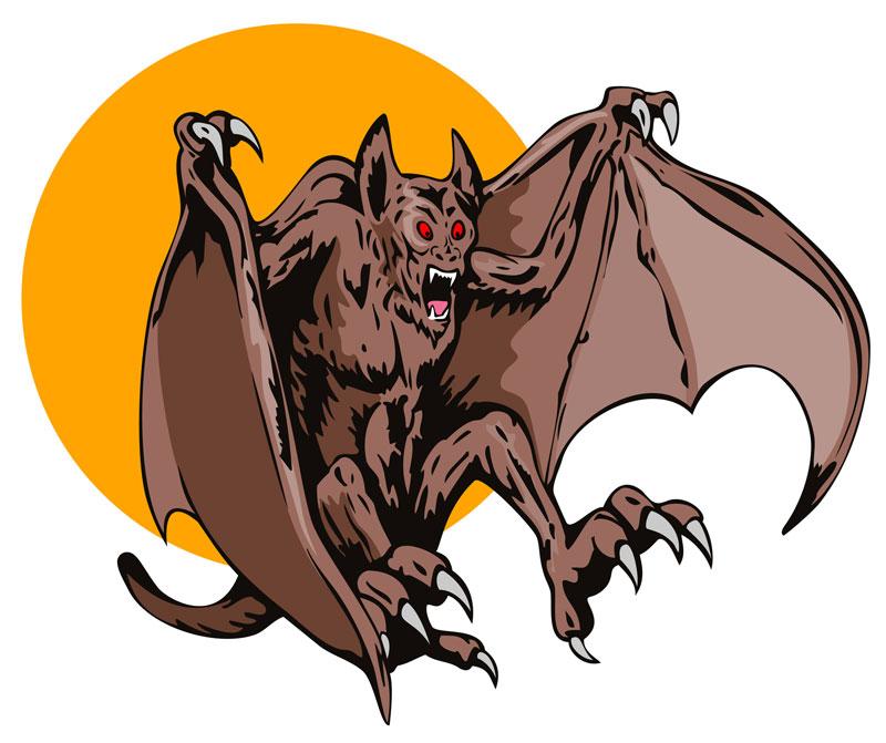 """Наблюдения странного """"Бэтсквача""""- двуногой обезьяны с крыльями как у летучей мыши"""