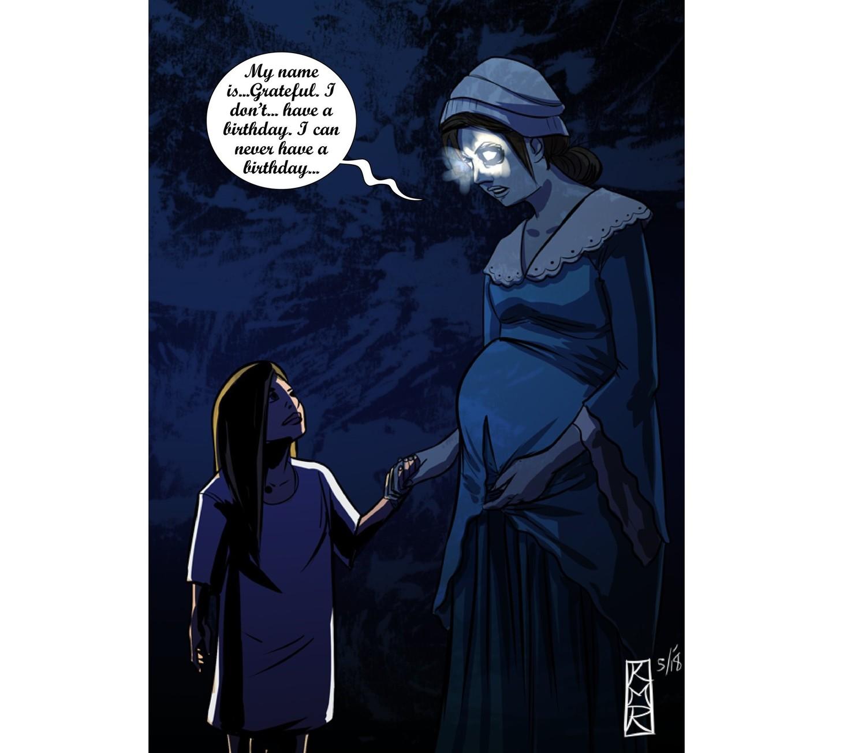 """""""Она видит призрака!"""": Рассказ маленькой девочки шокировал людей"""