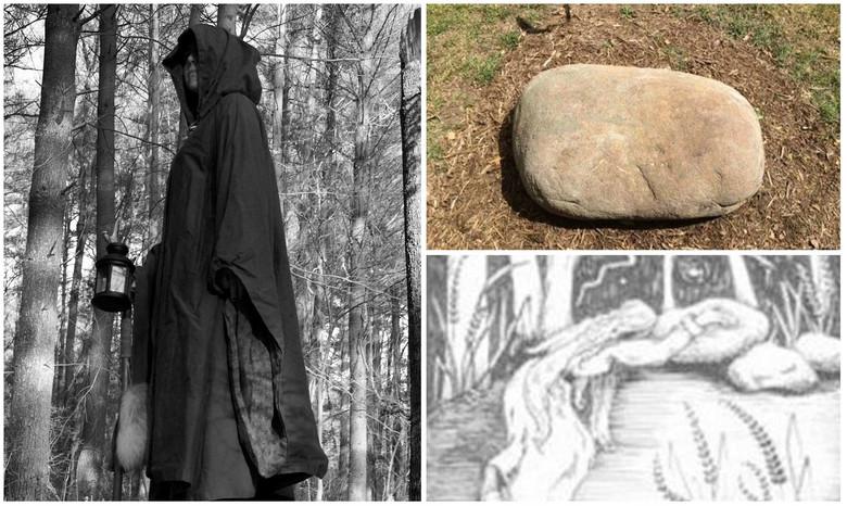 Легенда о ведьме Молл Дайер и ее проклятии (5 фото)