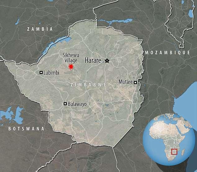 В Зимбабве поймали настоящего вампира: Мужчина убил женщину и пил ее кровь