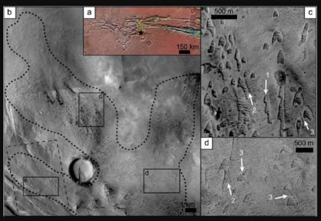Могут ли необычные дюны на поверхности Марса скрывать следы жизни?