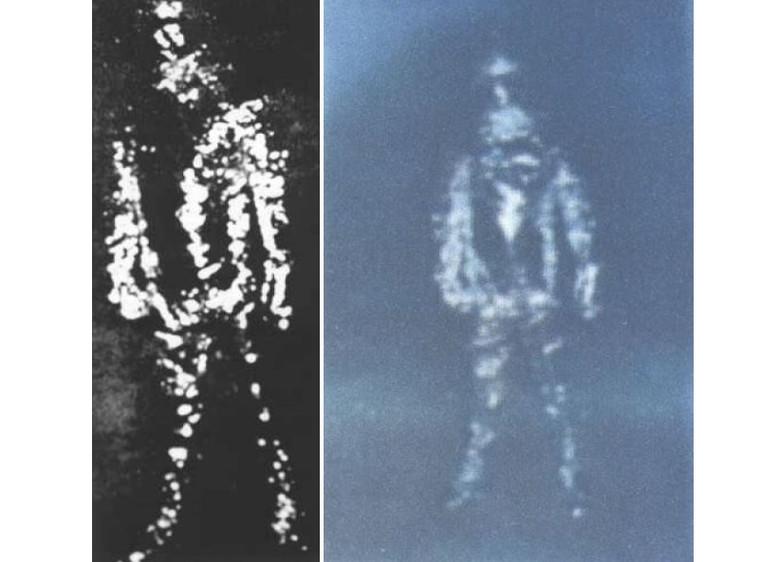 """Странная история о пришельце в """"скафандре из фольги"""" (2 фото)"""