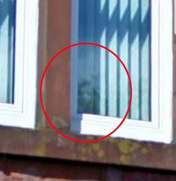 В окне квартиры с полтергейстом засняли жутковатое лицо