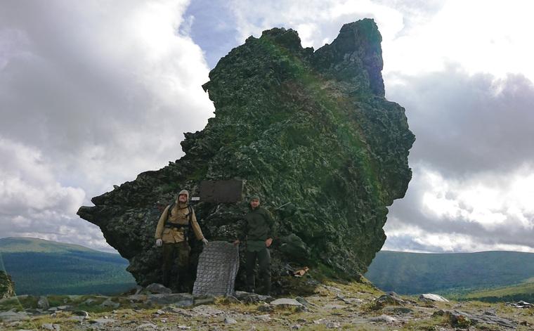 В Екатеринбург привезли кусок ракеты, найденный на перевале Дятлова