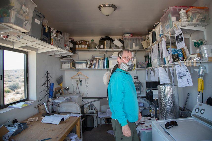 """Городок в Аризоне стал спасением для людей с аллергией """"на современную жизнь"""""""
