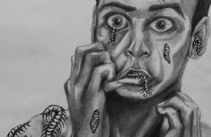 Из-за лекарств от гиперактивности женщина стала видеть везде черных жуков, в том числе у себя под кожей
