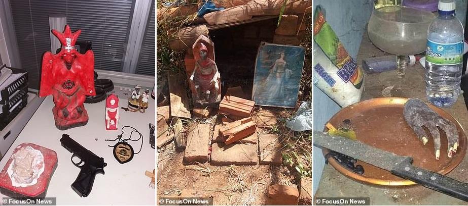 В Бразилии дьяволопоклонники убили четырех человек и превратили части их тел в демонический алтарь