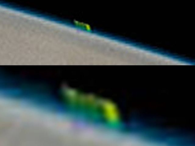 Загадочная зеленая аномалия на Юпитере