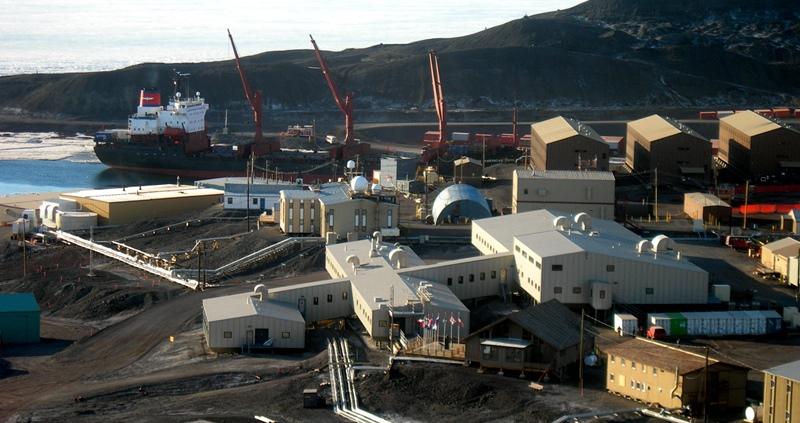 На станции в Антарктиде загадочно погибли два американца