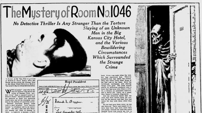 Причудливое убийство в номере 1046