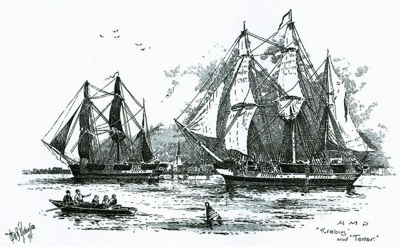 Пропавшая экспедиция Франклина 1