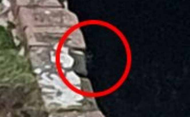 Британец уверяет, что заснял лицо призрака в бункере Второй Мировой