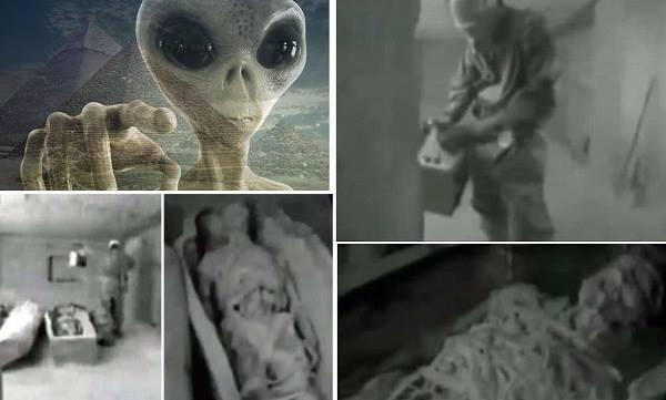 Странная история о советских солдатах, превращенных пришельцами в камень