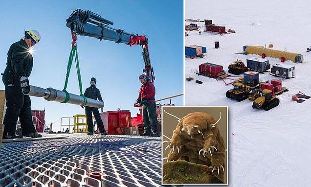 Американцы нашли останки живых существ в замкнутом антарктическом озере