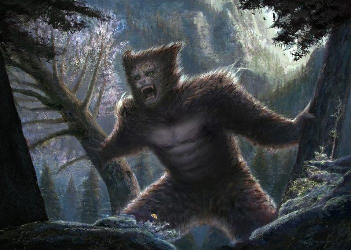 Загадочный зверь, похожий на помесь йети и волка, за зиму убил 40 коров на ферме