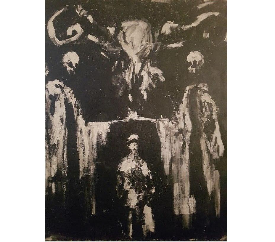 Женщине стало плохо при виде картины из паранормального музея