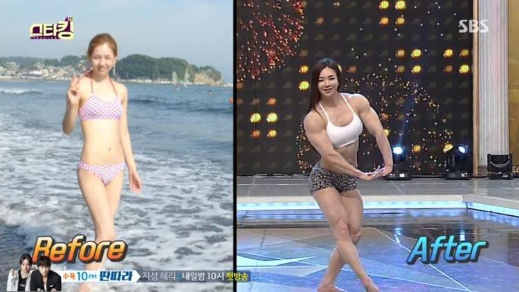 «Мускулистая Барби» из Южной Кореи