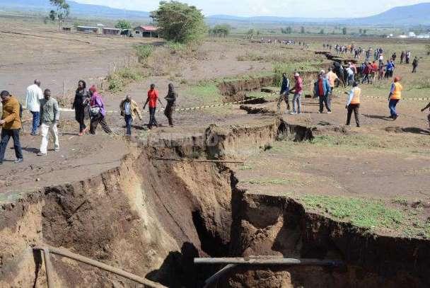 Под Африкой происходит что-то масштабное и необычное