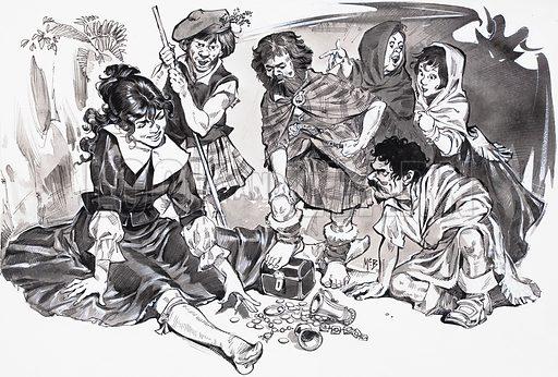 Фамильяры и история о ведьме-оборотне Изабель Гоуди