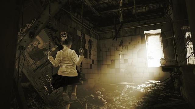 Маленькая девочка в доме старушки. Рассказ полицейского
