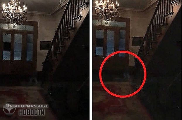 На видеозаписи разглядели ножки трех детей-призраков